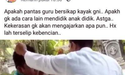 Kasek SMP Muhammadiyah 2 Jatiroto Lumajang, Pukul Siswa Viral di Medsos