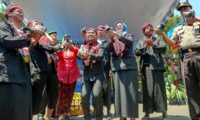 Festival Pakenal Manicu Na Dejeh di Klakah Lumajang yang Pertama