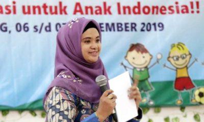 Musfarinah Thoriq Buka Workshop PAUD dengan Tema Mari Berkreasi Untuk Anak Indonesia