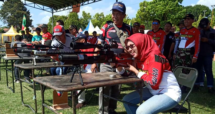 Tournament Air Rifle, Dandim Cup 0821, Wabup Lumajang Harapkan Atlet Menembak Bermunculan