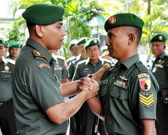 Dandim Ingatkan TNI Lahir dari Rakyat dan Untuk Rakyat, Jangan Sekali-kali Menyakiti Hati Rakyat