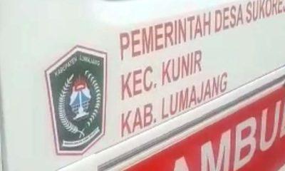 Ambulance Desa Digunakan Angkut Kambing di Lumajang