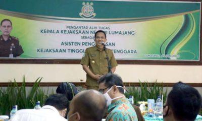 Kajari Lumajang Pindah Kajati Sulawesi, Bupati Ucapkan Selamat Bertugas