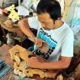 Kerajinan Ukir Kayu Klakah Lumajang Berharap Dukungan Pemerintah