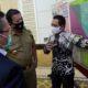 NARA SUMBER: Bupati Lumajang Thoriqul Haq saat menjadi narasumber dalam Executive Meeting Lahan Pertanian Pangan Berkelanjutan (LP2B) yang diselenggarakan oleh Kementerian Pertanian Republik Indonesia di Bandar Lampung, Selasa (11/8)