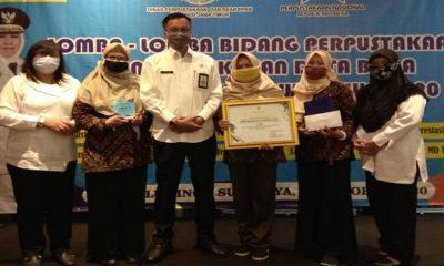 Perpustakaan desa (Perpusdes) 'Sumber Ilmu' Desa Labruk Kidul berhasil meraih juara 2 lomba tingkat Provinsi Jatim.