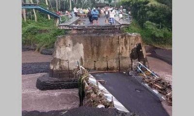 Tinjau Jembatan Antar Kecamatan yang Terputus, Bupati Lumajang Pastikan Pembangunan