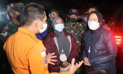 Mensos Pantau Langsung Kecamatan Terparah di Lumajang Akibat Gempa Malang